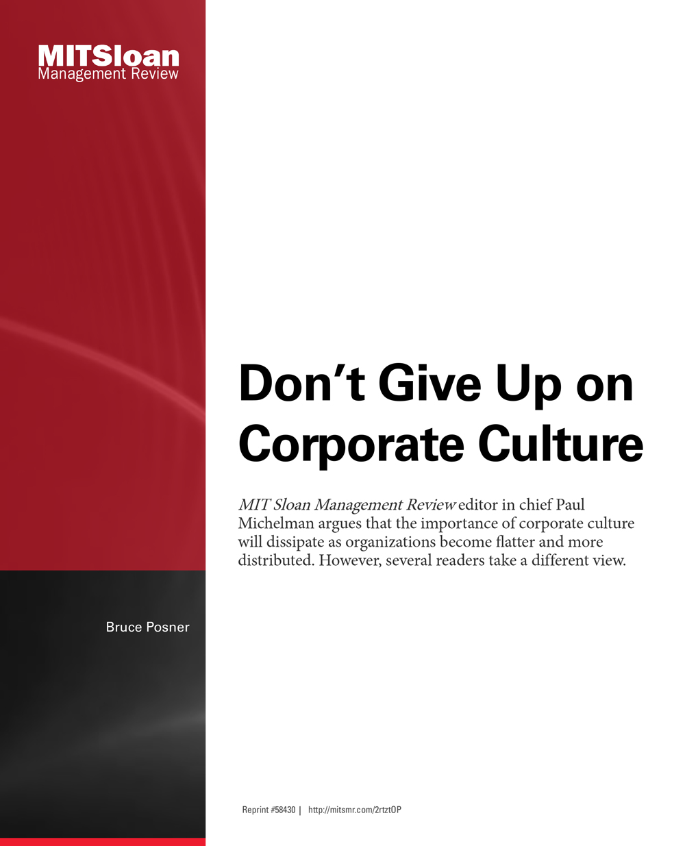 "the importance of corporate culture in (this post originally appeared on corporate culture 11 insightful leadership quotes on corporate ""that was a reminder to me of the critical importance."