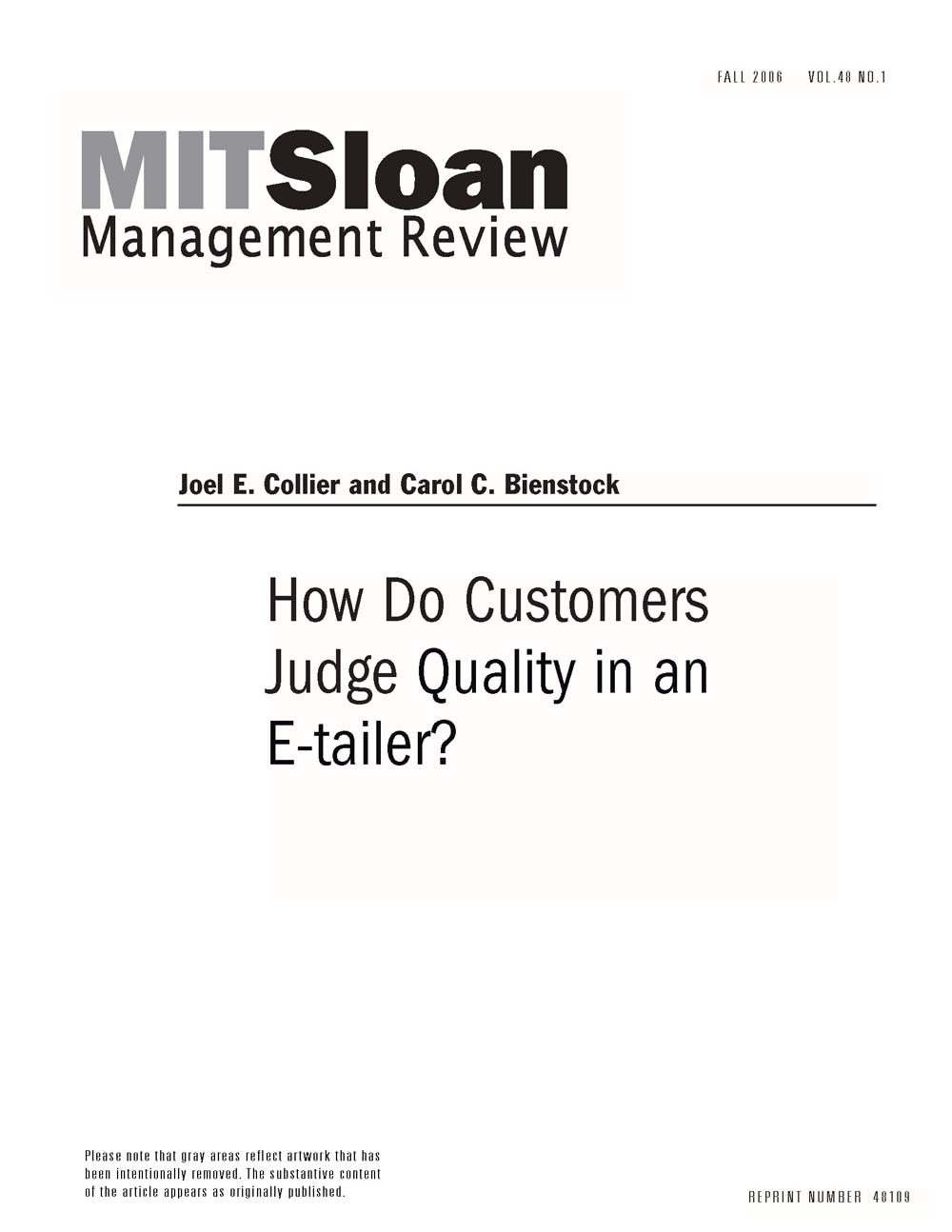 how do customers judge quality of How do customers judge service quality there is intense, often bruising competition in the service sector for revenue and market share and the casual observer could be forgiven for thinking.